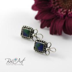 srebrne sztyfty - Kolczyki - Biżuteria
