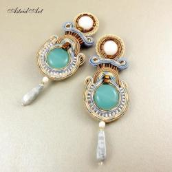 antyczne kolczyki sutasz - Kolczyki - Biżuteria