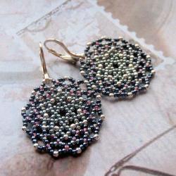 koronkowe,kolczyki,Extrano - Kolczyki - Biżuteria