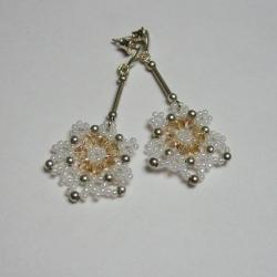 eleganckie,plecione - Kolczyki - Biżuteria