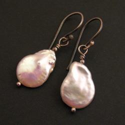 kolczyki,perłowe,perły - Kolczyki - Biżuteria