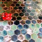 Ceramika i szkło oryginalna podłoga,ciekawe kafle podłogowe