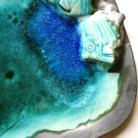 Ceramika i szkło patera ceramiczna,ceramika artystyczna,ceramika