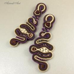 sutasz,efektowne kolczyki - Kolczyki - Biżuteria