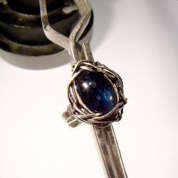 srebro,delikatne,kobiece,romantyczne,vintage,retro - Pierścionki - Biżuteria