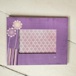 anamrko,ramka na zdjęcie,kwiatki,kwiatek,ramka - Ramki - Wyposażenie wnętrz