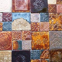 dekory ceramiczne,kafle ręcznie robione,płytki - Ceramika i szkło - Wyposażenie wnętrz