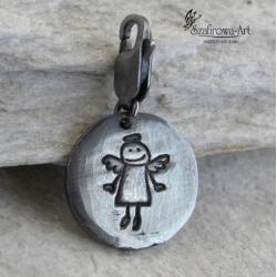 charms,anioł,chłopiec,prezent - Charms - Biżuteria