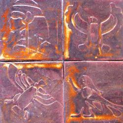 dekory ceramiczne,kafle artystyczne,płytki, - Ceramika i szkło - Wyposażenie wnętrz