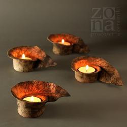lampiony,świeczniki,ceramika,dekoracja,na stół - Ceramika i szkło - Wyposażenie wnętrz