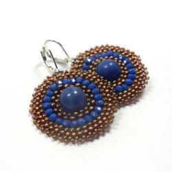 plecione,koronkowe,medaliony,kolczyki,Extrano - Kolczyki - Biżuteria