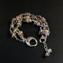 ewasko,bostwana,agat,bransoletka,cytryn - Bransoletki - Biżuteria