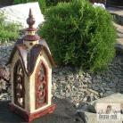 Ceramika i szkło lampion ogrodowy,ogród,architektura krajobrazu,