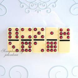magnesy,domino,na lodówkę - Magnesy na lodówkę - Wyposażenie wnętrz