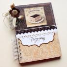 Notesy kulinarny,przepisy,czekolada,prezent,kuchnia