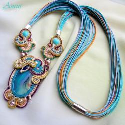 ekskluzywny,elegancki,klasyczny - Naszyjniki - Biżuteria