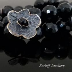 ciemny,elegancki,złocony - Bransoletki - Biżuteria
