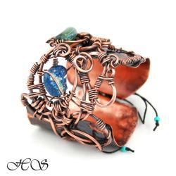 organiczna bransoleta - Bransoletki - Biżuteria