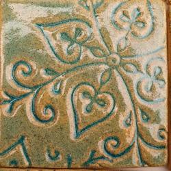 kafle artystyczne,nietypowe kafle,kafle z gliny - Ceramika i szkło - Wyposażenie wnętrz