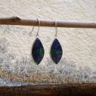 Kolczyki mozaikowekolczyki,lapis,malachit