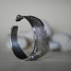autorska bransoleta,malownicza,oryginalna - Bransoletki - Biżuteria