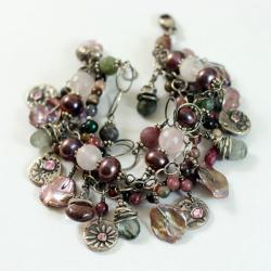 kobieca,art clay,pastelowa,delikatna - Bransoletki - Biżuteria