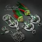 Komplety ekskluzywny,komplet,wire-wrapping,bogaty