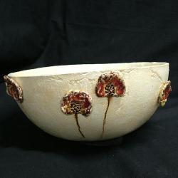 maki,ceramika,misa,dekoracja,kwiaty - Ceramika i szkło - Wyposażenie wnętrz