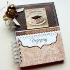 Notesy kulinarny,przepisy,retro,prezent,kuchnia