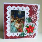 Kartki okolicznościowe szopka,życzenia,Betlejem,gwiazdka,święta