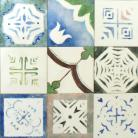 Ceramika i szkło dekory ręcznie malowane,płytki ceramiczne,kafle