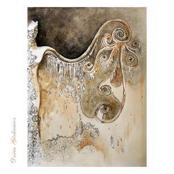 skrzydła,na ścianę,grafika,wnętrze,kobieta,akt, - Ilustracje, rysunki, fotografia - Wyposażenie wnętrz