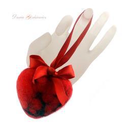 serce,prezent,serduszko,czerwone,walentynki - Inne - Wyposażenie wnętrz
