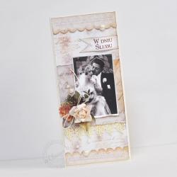 ślub,retro - Kartki okolicznościowe - Akcesoria