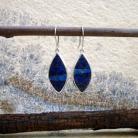 Kolczyki lazurytowe kolczyki,niebieskie