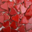 Ceramika i szkło serce,ślub,prezent,miłość,wesele