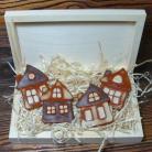 Ceramika i szkło rustykalne,chatki,domki,malowane