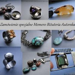 srebro,labradoryt,pierścionek - Pierścionki - Biżuteria
