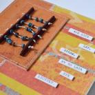 Kartki okolicznościowe kartka urodzinowa,liczydło,sentencja