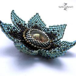 elegancka,codzienna,nietypowa,kwiat - Broszki - Biżuteria