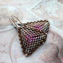 plecione,trójkąty,kolczyki,Extrano - Kolczyki - Biżuteria