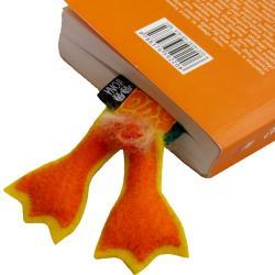 zakładka,książka,prezent,kaczka,ogon,łapy - Zakładki do książek - Akcesoria