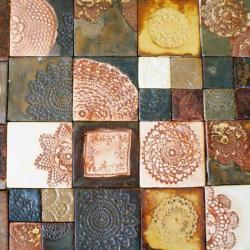 dekory,kafle,płytki,glazura,płytki artystyczne - Ceramika i szkło - Wyposażenie wnętrz