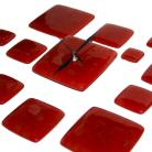 Zegary designerski zegar dekor szklany oryginalny prezent