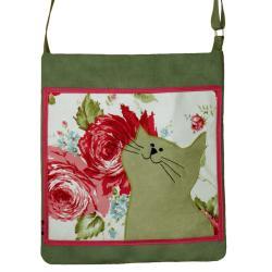 torba autorska,kot,prezent,unikalna, - Na ramię - Torebki