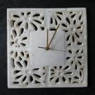 Ceramika i szkło zegar,zegar ceramiczny,dekoracja ścienna