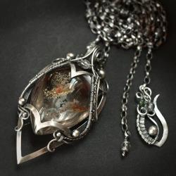 ekskluzywny,baśniowy,wire-wrapping,elegancki - Naszyjniki - Biżuteria