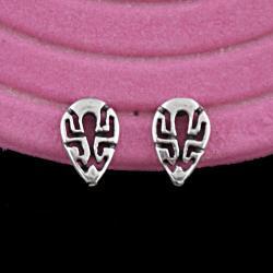 sztyfty,wkrętki,bali,azteckie,ażurowe - Kolczyki - Biżuteria