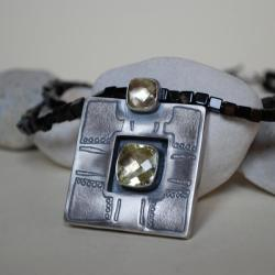 duży,nietuzinkowy,nitza - Naszyjniki - Biżuteria