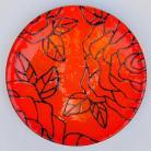 Ceramika i szkło szkło,misa,patera,na stół,na owoce,w róże